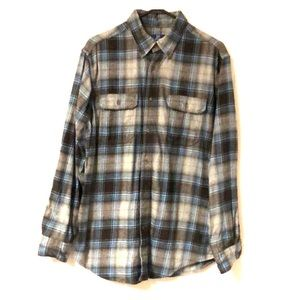Men's George brand flannel shirt